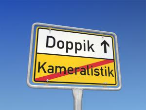 Schild Kameralistik Doppik